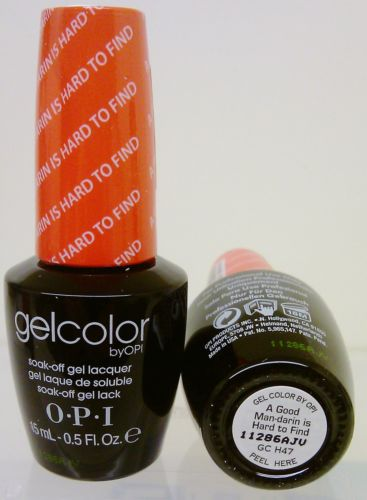 OPI Gel Color GC H47 A Good Man-darin is Hard to Find
