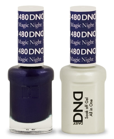 DND Gel & Lacquer 480  Magic Night