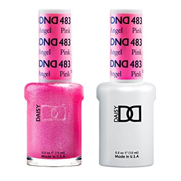 DND Gel & Lacquer 483  Pink Angel