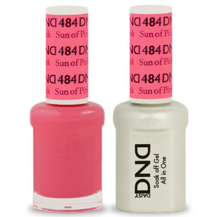 DND Gel & Lacquer 484 Sun Of Pink