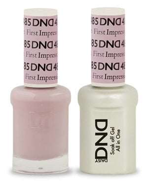 DND Gel & Lacquer 485 First Impression