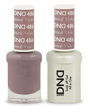 DND Gel & Lacquer 486 . Classical Violet