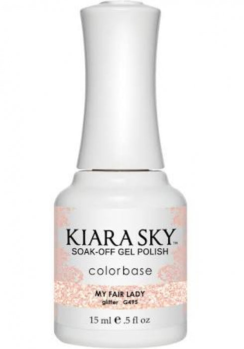 KIARA SKY GEL POLISH - G495 MY FAIR LADY