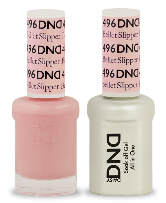 DND Gel & Lacquer  496 Bellet Slipper