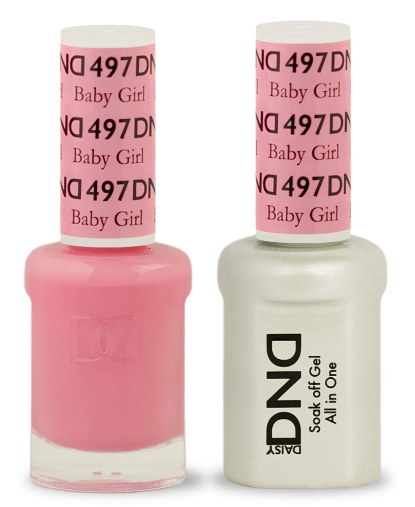 DND Gel & Lacquer 497  Baby Girl