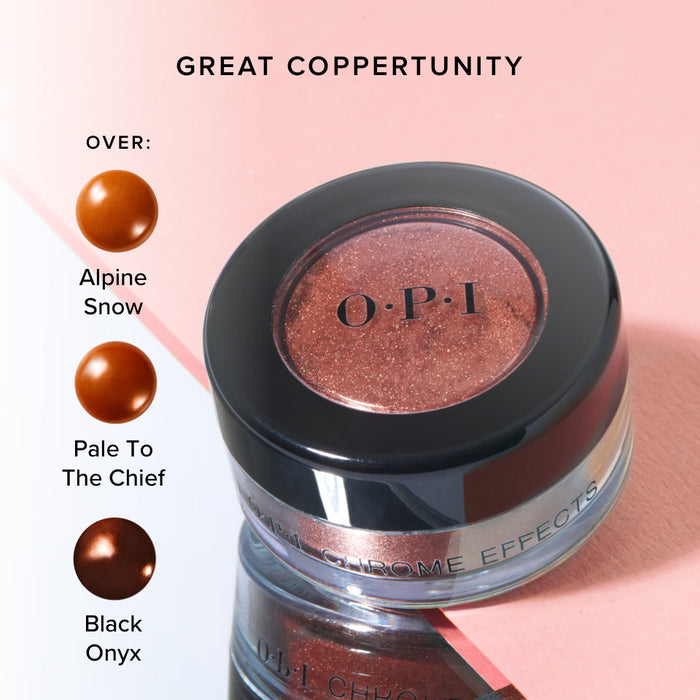 OPI Chrome Effects Great Copper-tunity CP003