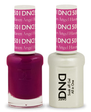 DND Gel & Lacquer 501  Haven Angel