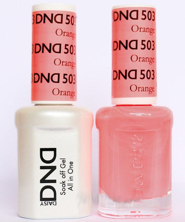 DND Gel & Lacquer 503 Orange Smoothie