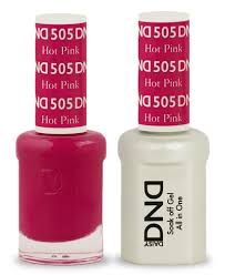 DND Gel & Lacquer 505 Hot Pink