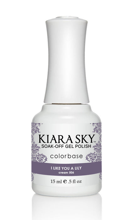 KIARA SKY  GEL POLISH -  G506 I LIKE YOU A LILY