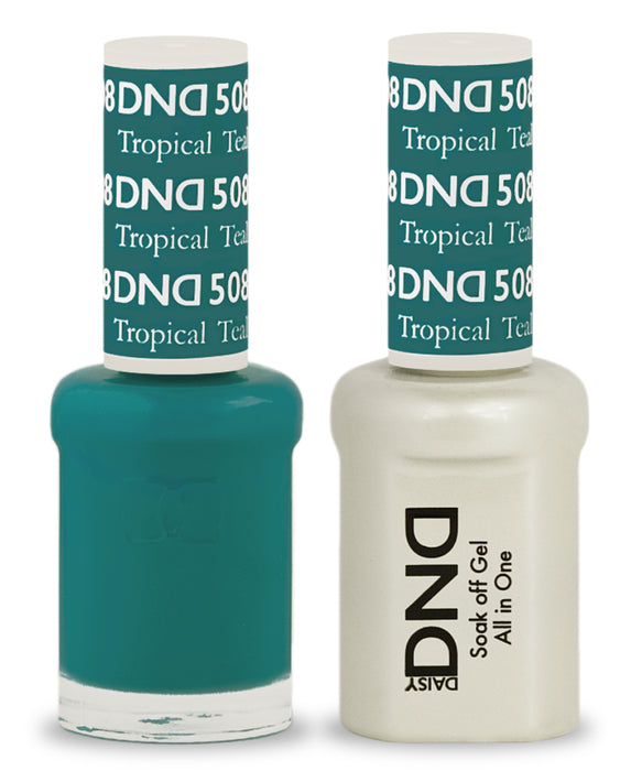 DND Gel & Lacquer 508 Tropical Teal