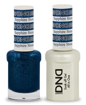 DND Gel & Lacquer 509 Sapphire Stone