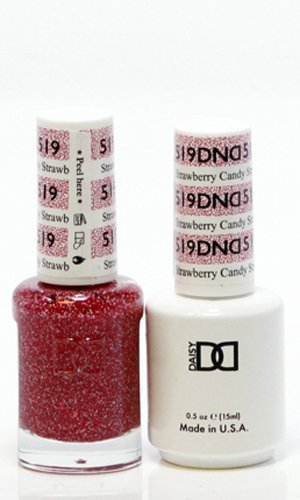 DND Gel & Lacquer 519 STrawberry Candy