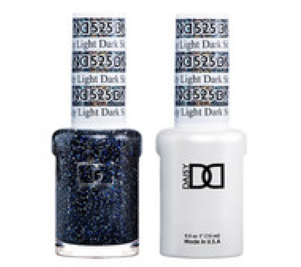 DND Gel & Lacquer 525 Dark Sky Light
