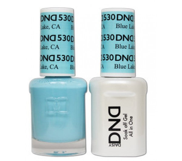 DND Gel & Lacquer 530  Blue Lake, CA