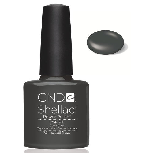 CND  SHELLAC UV Color Coat  ASPHALT 40531