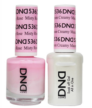 DND Gel & Lacquer 536 Misty Rose