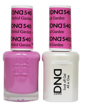 DND Gel & Lacquer 540 Orchid Garden