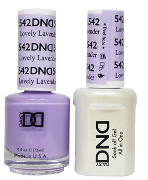 DND Gel & Lacquer 542 Lovely Lavender