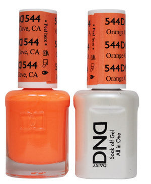 DND Gel & Lacquer 544 Orange Cove
