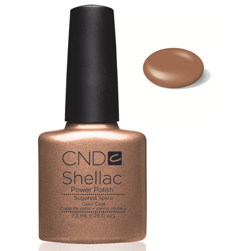 CND  SHELLAC UV Color Coat  SUGARED SPICE 40544