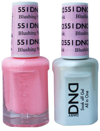 DND Gel & Lacquer 551 Blushing Pink