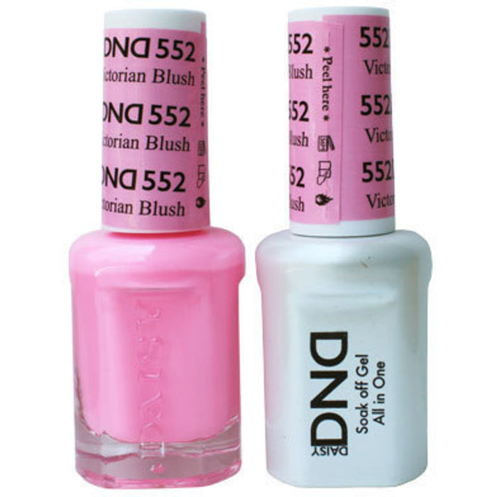 DND Gel & Lacquer 552 Victorian Blush