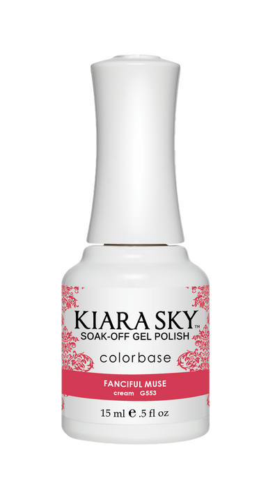 KIARA SKY GEL POLISH - G553 FANCIFUL MUSE