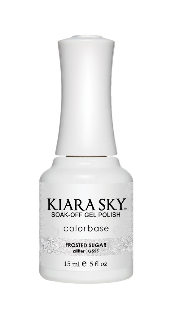 KIARA SKY GEL POLISH - G555 FROSTED SUGAR