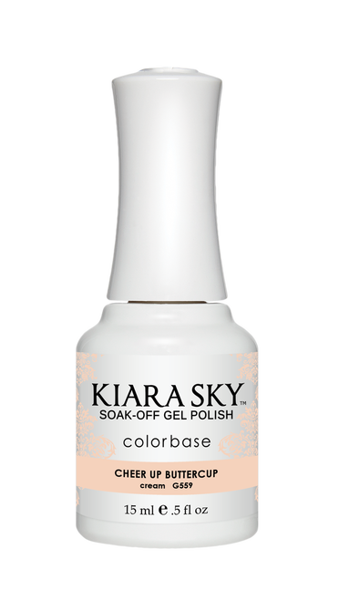 KIARA SKY GEL POLISH - G559 CHEER UP BUTTERCUP