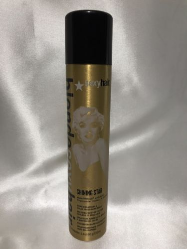 Sexy Hair Blonde Sexy Hair Shining Star Shine Spray 3.4oz 130ml