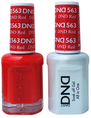 DND Gel & Lacquer 563 DND Red