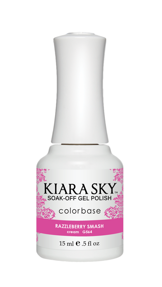 KIARA SKY GEL POLISH - G564 RAZZLEBERRY SMASH