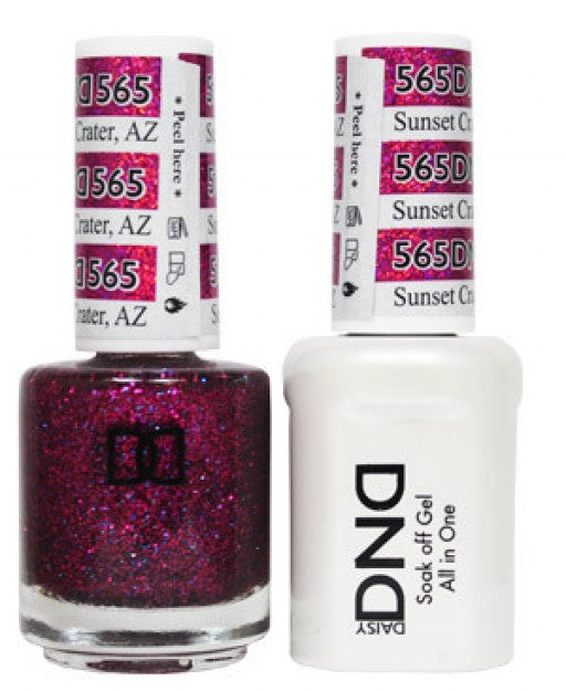 DND Gel & Lacquer 565 Sunset Crater, AZ