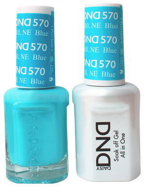 DND Gel & Lacquer 570 Blue Hill, NE