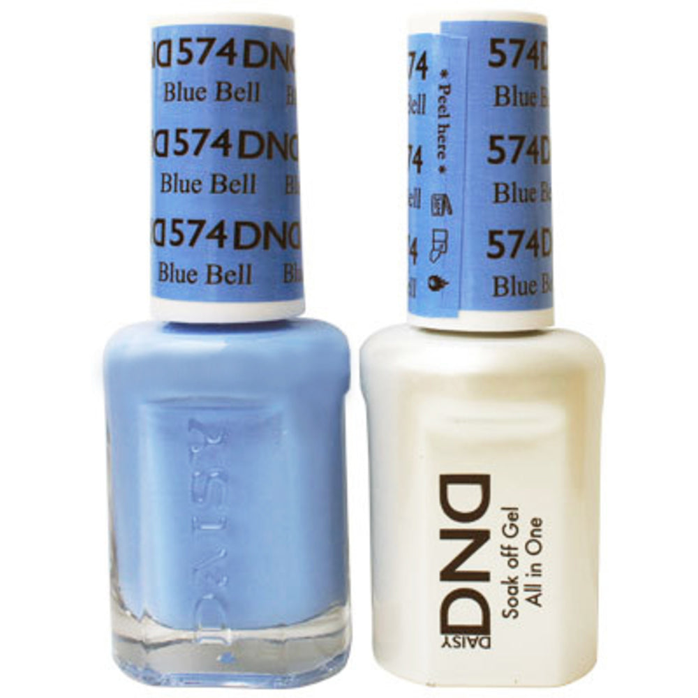 DND Gel & Lacquer 574 Blue Bell
