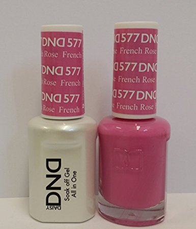 DND Gel & Lacquer 577 French Rose