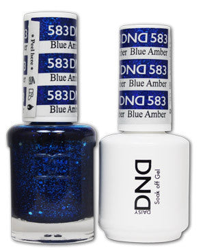 DND Gel & Lacquer 583 Blue Amber