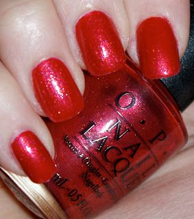 OPI Discontinue Color Nail Polish Joyful, Toy-ful Red SR 5R9 nl1