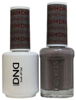 DND Gel & Lacquer 604 Cool Gray