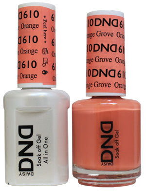 DND Gel & Lacquer 610 Orange Grove