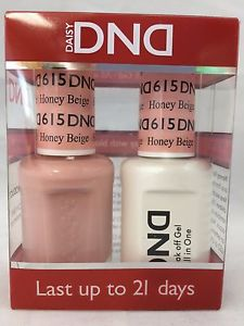 DND Gel & Lacquer 615 Honey Beige