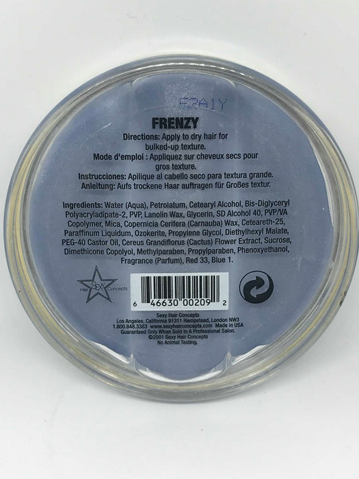 Sexy Hair Concepts Short Sexy Hair Frenzy Bulked Up Texture 2.5 oz