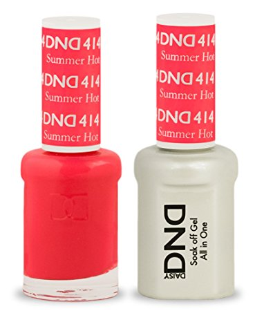 DND Gel & Lacquer 414 Summer Hot Pink