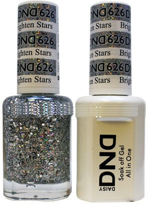 DND Gel & Lacquer 626 Brighten Stars