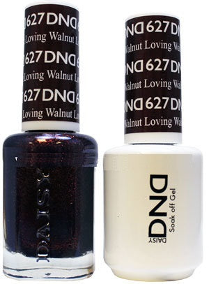 DND Gel & Lacquer 627 Loving Walnut
