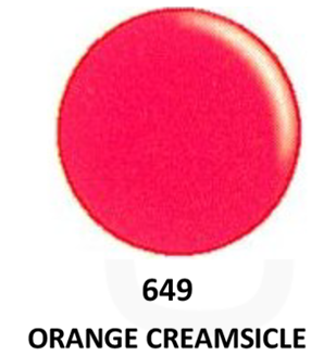 DND Gel & Lacquer 649 Orange Creamsicle