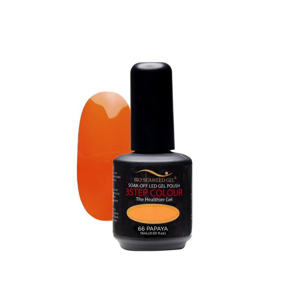 BSG BEBIO MATCHING GEL + LACQUER SET #66 PAPAYA  p1