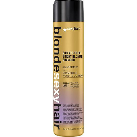 BLONDE SEXY HAIR SULFATE-FREE BRIGHT BLONDE VIOLET SHAMPOO - 10.1 OZ