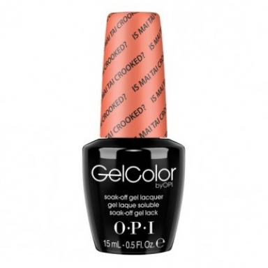 OPI Gel Polish GC H68 Is Mai Tai Crooked?